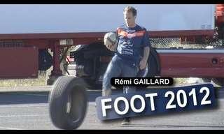 טריקים מגניבים עם כדורגל!
