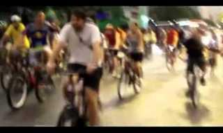תאונה קשה: רכב מתנגש בחבורת רוכבי אופניים