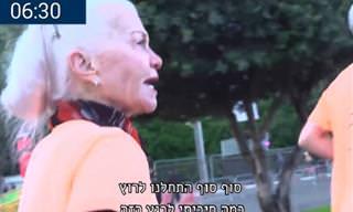 צפו בסיפורה מעורר ההשראה של אילנה שטיאט שרצה מרתון בגיל 79