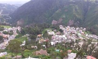 הנופים היפהפיים ובעלי החיים של בירת אקוודור ואיי גלאפגוס
