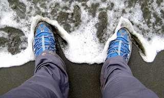 כך תהפכו את נעלי הבד שלכם לעמידת בפני מים