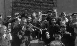 תיעוד נדיר מקיץ 1941 בגטו ורשה