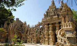 הארמון הפלאי הזה נבנה בלי כסף בזכות חלומו של איש אחד...