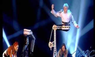 פיטר מרביי אמן האשליות במופע מדהים!