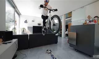 מגרש המשחקים הביתי של רוכב האופניים פאביו וויבמר