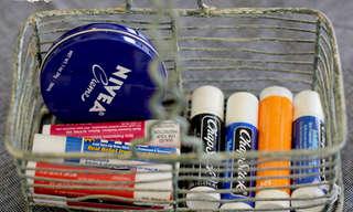מתכון פשוט להכנת שפתון אורגני נגד יובש