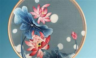 17 עבודות רקמה מיוחדות מהמסורת הסינית