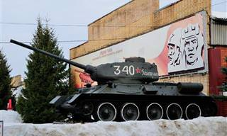 סיור מצולם במוזיאון הטנקים בקובינקה