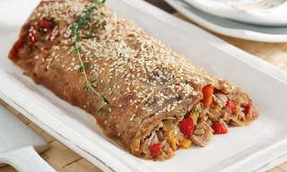ארוחה זריזה: מאפה טונה ופלפלים