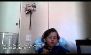 חיות הן חברות - סרטון מרגש של ילד תמים