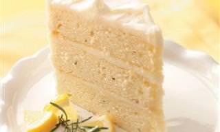 מתכון לעוגת לימון-רוזמרין