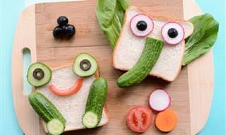 20 עיצובי אוכל מקוריים שישמחו את כל המשפחה ובעיקר את הילדים