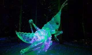 פסטיבל פסלי הקרח של אלסקה