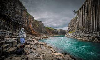 צלם חובב תיעד את מסעו המופלא באיסלנד
