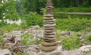 איזון סלעים- מקצוע לסבלנים בלבד!!