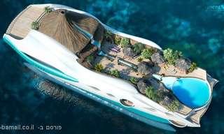 האי הצף - גן עדן בלב ים!
