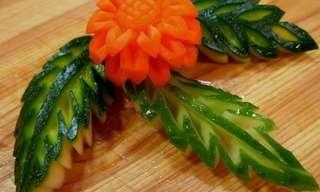 גילוף מירקות