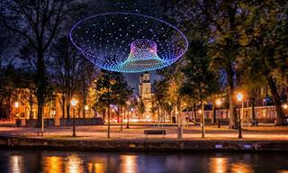 סדרת תמונות מרהיבה של מיצגי פסטיבל האורות השמיני באמסטרדם ובונוס מיוחד!