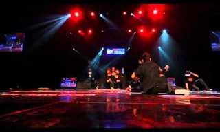 ריקוד ברייקדאנס מדהים!