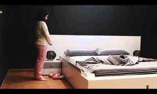 המיטה החכמה שמציעה את עצמה - גאוני!