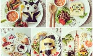 עיצוב ארוחות בוקר בסיפורים