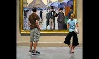 להתבונן במתבונן - סדרת ציורים מעולה!!