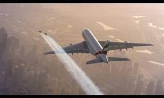 מטס משולב של כלי טיס ואנשים עם כנפי סילון
