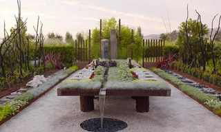 גן השולחן - עיצוב מדהים לסעודה באוויר הפתוח
