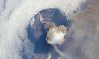 תמונת של התפרצויות הרי געש מהחלל