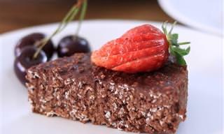 מתכון לעוגות שוקולד קלה ומהירה מ-3 רכיבים