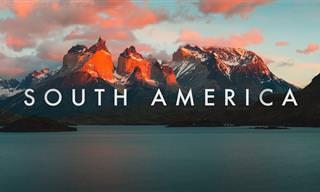 פנקו את העיניים שלכם ביופי המדהים של דרום אמריקה באיכות 8K