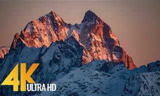 סרטון מופלא שמציג את נופי צפון הקווקז באיכות 4K