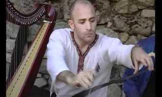 האם כלי הנגינה העתיקים האלה שימשו בבית המקדש?