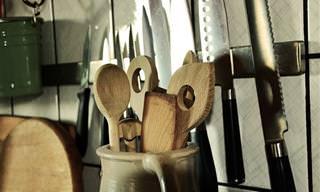 12 שימושים מפתיעים לכלי מטבח