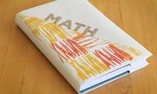 רעיון יצירתי לעטיפת ספרי לימוד