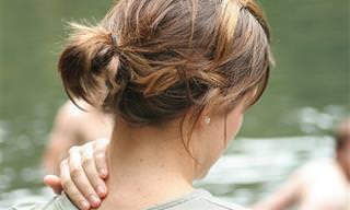 3 תרגילים פשוטים למניעת כאבים בצוואר ובגב