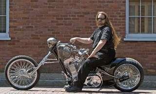 אופנוע כזה עוד לא ראיתם!!
