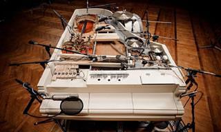 הרכב אוקראיני מיוחד שהצליח לבנות פסנתר שמכיל 20 כלים