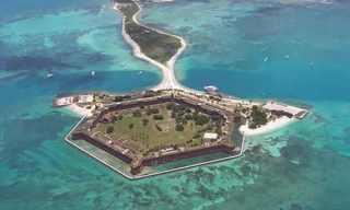 דריי טורטוגס - המגן של מפרץ מקסיקו