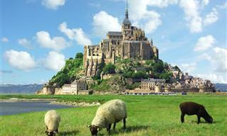 18 נופים מהאגדות שתוכלו לגלות רק בצרפת