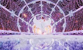אגדה חורפית ברוסיה: 15 תמונות ממוסקבה שקושטה באורות לקראת השנה החדשה
