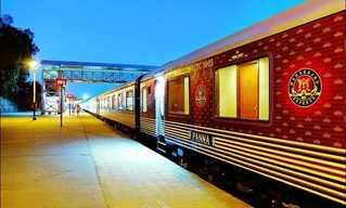 עולים על הפסים: הרכבת היוקרתית של הודו