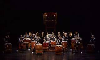 הלהקה היפנית הזו הופכת את התיפוף לאומנות ייחודית