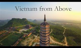 נופיה המרהיבים של וייטנאם ממעוף הציפור