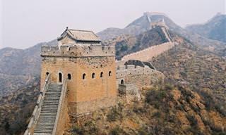 8 מקומות מדהימים לאורך החומה הגדולה של סין