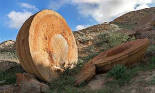 עמק כדורי הסלע המסתוריים של קזחסטן