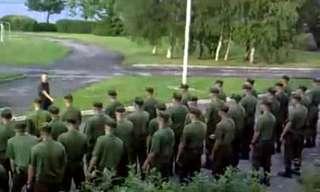 צבא אסטוניה מוקפץ לאימון בוקר!
