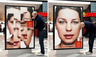 פרסומות יצירתיות למקדונלדס