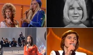 24 שירי האירוויזיון האהובים והנוסטלגיים ביותר