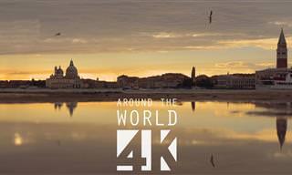 סרטון 4K מרהיב במיוחד של ונציה